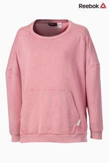 Reebok Pink Favourite Oversized Crew