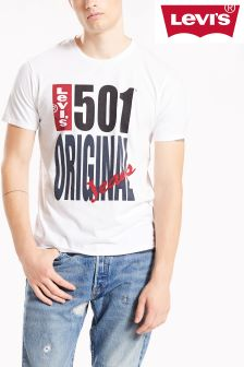 Levi's® 501® White Graphic Tee