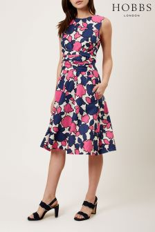 Hobbs Pink Colwyn Twitchill Dress