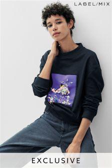Mix/A V Robertson 3D Embellished Sweatshirt