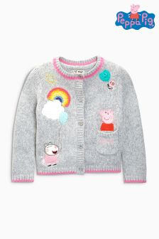 Peppa Pig™ Embellished Cardigan (3mths-6yrs)