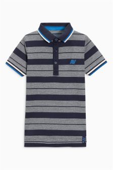 Striped Tipped Polo (3-16yrs)