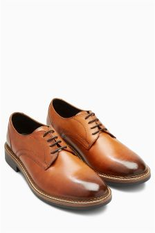 Plain Toe Derby