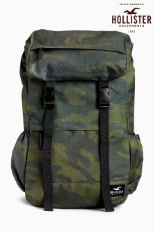 Hollister Camo Print Backpack