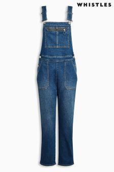 Whistles Denim Dungaree
