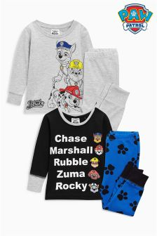 Paw Patrol Pyjamas Two Pack (12mths-8yrs)