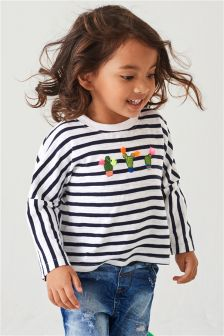 Drop Hem T-Shirt (3mths-6yrs)