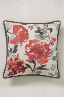 Watercolour Flourish Cushion