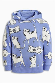 Cat Hoody (3mths-6yrs)