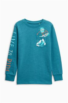 Live To Ride Long Sleeve Top (3-16yrs)