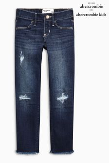 Abercrombie & Fitch Hem Detail Jean