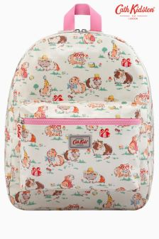 Cath Kidston Cream Pets Party Padded Backpack