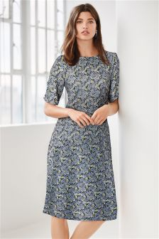 Ditsy Print Dress