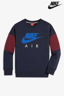 Nike Air Navy Crew Sweater