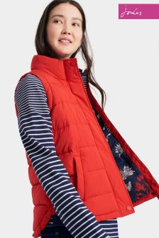 Joules Red Padded Eastleigh Gilet
