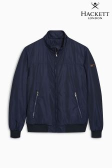 Hackett Navy Nylon Blouson