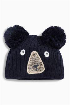 Bear Hat (0mths-2yrs)