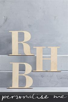 Wooden Initial By Loveabode