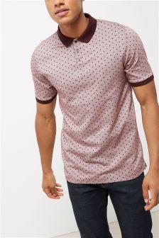 Premium Polka Dot Poloshirt