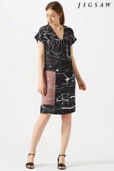 Jigsaw Grey Waterpool Constance Dress