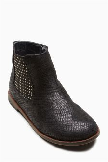 Studded Chelsea Boots (Older Girls)