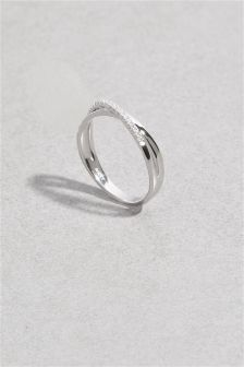 Sparkle Twist Ring