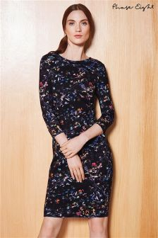 Phase Eight Black Midnight Garden Floral Dress