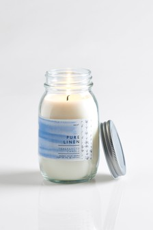 Linen Candle