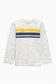 Long Sleeve Cosy Stripe Top (3-16yrs)