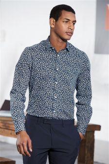 Floral Printed Regular Fit Shirt