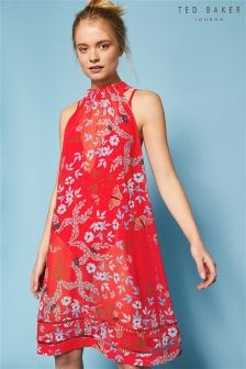 Ted Baker Red Kyoto Gardens Madoxx Beach Cover Up