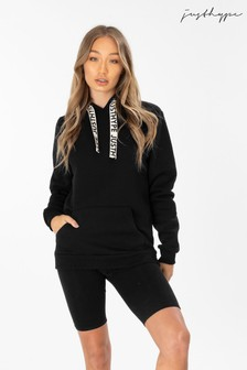 Hype. Black Drawstring Hoody