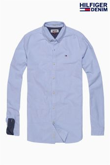 Hilfiger Denim Light Blue Solid Shirt