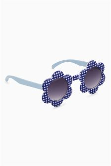 Gingham Flower Sunglasses