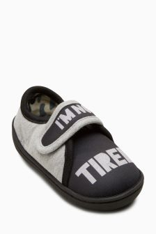 Not Tired Slippers (Younger Boys)