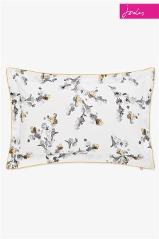 Joules Mono Blossom Oxford Pillowcase