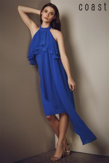 Coast Blue Inez Ruffle Shift Dress