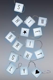 Light Box Personalised Bunting