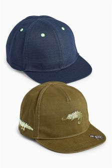 Animal Caps Two Pack (Younger Boys)
