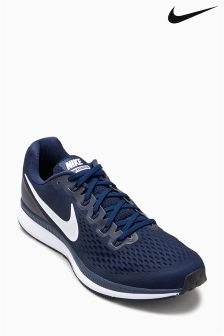 Nike Run Obsidian Navy/White Air Zoom Pegasus 34