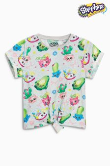 Shopkins Short Sleeve Tie Front T-Shirt (3-16yrs)