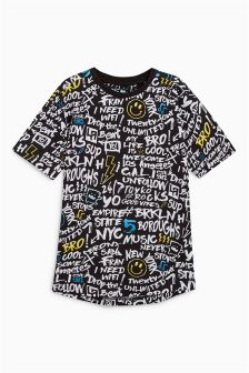 Graffiti All-Over-Print T-Shirt (3-16yrs)