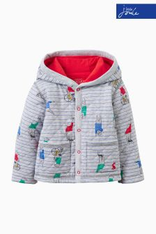 Joules Baby Grey Sweat Cover Up