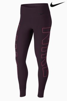 Nike Port Wine Power Legend Training Tight