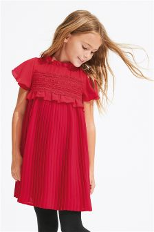 Pleated Dress (3-14yrs)