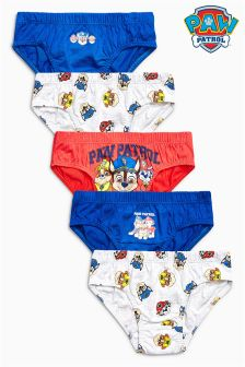Paw Patrol Briefs Five Pack (1.5-8yrs)