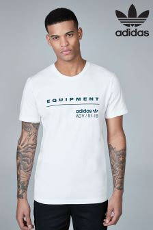 adidas Originals White EQT T-Shirt
