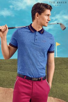 Ted Baker Bright Blue Mouline Polo
