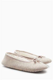 Keyhole Ballet Slippers