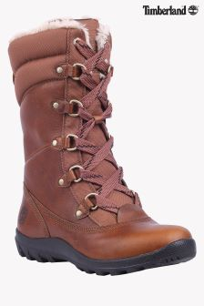 Timberland® Tan Leather Mount Hope Waterproof Mid Boot